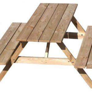 stół ogrodowy z siedziskami